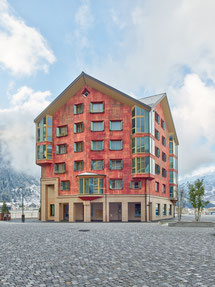 Apartmenthäuser Andermatt, Baumberger & Stegmeier AG