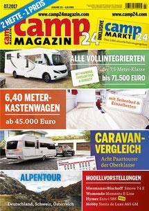 camp24 magazin November in der Normandie