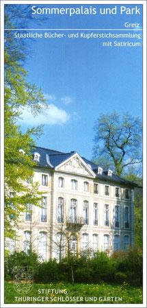 Das Sommerpalais im Park mit wertvollen Ausstellungen