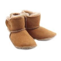 Chaussons en peau d'agneau peau lainée fourrure naturelle de mouton cuir bottines en peau de mouton semelle antidérapante
