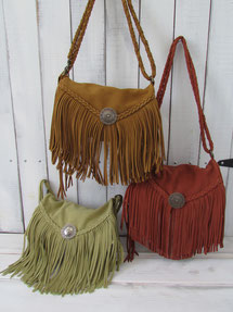 CONCHO LONGFRINGE WALLET BAG