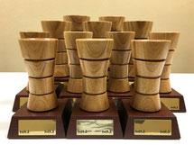 木製トロフィー