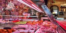 Ledverlichting voor uitlichting voedsel vlees vis brood groente fruit
