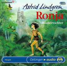CD Cover Ronja Räubertochter