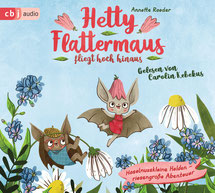 CD Cover Hetty Flattermaus