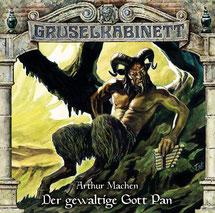 CD Cover Gruselkabinett Der gewaltige Gott Pan