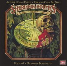 CD Cover Sherlock Holmes Die dritte Botschaft