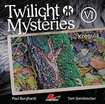 CD Cover Twilight Mysteries Krégula