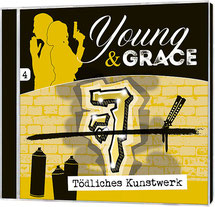 CD Cover Young & Grace Tödliches Kunstwerk