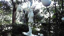 月うさぎ 2010Art Renaissance in Hamamatu(浜松城公園野外展)