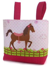 fahrradkorb mit Pferd Lenkertasche für Mädchen