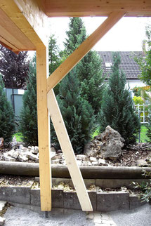 Detail Ständerbau