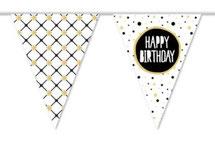 Vlaggenlijn PE Happy Birthday € 2,95
