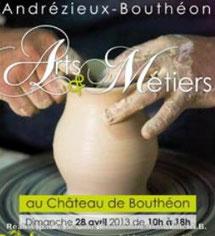 Arts et Métiers Chateau Bouthéon