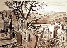 konventioneller Friedhof