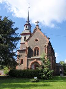 Kirche Rauischholzhausen I Bildquelle: Homepage Kirchengemeinde Rauischholzhausen