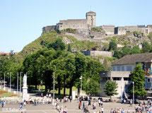 Le chateau fort de Lourdes.