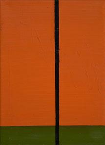 o. T.  (39) 1995 Ölfarbe 30 x 22 cm