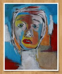 Facetten der Kunst  25 x 30cm - Acryl auf Leinentuch - verkauft -