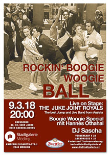 Boogie Tanzabend Stadtgalerie Mödling