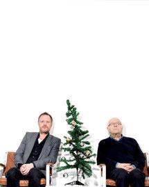 """Christoph & Ernst Grissemann """"Klappe Santa"""" Stadtgalerie Mödling"""