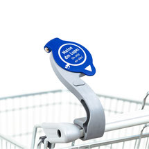 EIWAL® shopping cart magnifying glass at Drogeriemarkt