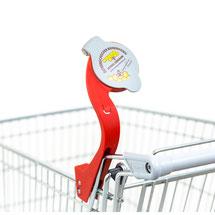 EIWAL® Einkaufswagen-Lupe Werbung