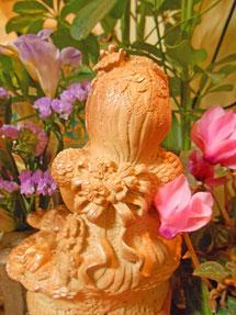 楽々土像~彫塑 実在の人物から                                               立花雪 Yuki Tachibana