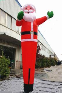 Sky Dancer Babbo Natale, Air Dancer Santa Claus, SkyDancer Santa, AirDancer Babbo Natale