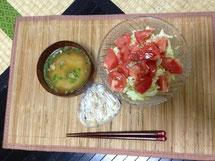 昨日の晩飯