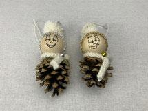 Weihnachtszapfen-Männchen