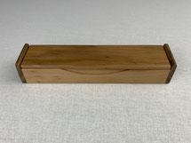Etui aus Apfelholz, für ein Schreibgerät