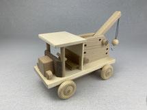 LKW-Kran aus Holz