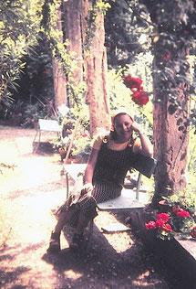 Le jardin en 1975