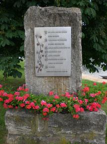 Silvanerdenkmal in Obereisenheim