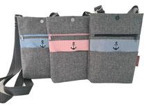 Crossbag, Umhängetasche für Handy, Handytasche, Handyhülle, Handykette, Smartphonetasche mehr