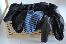Nie wieder Socken sortieren - 5 Lösungen