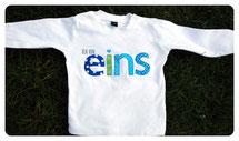 Shirt Ich bin EINS, ZWEI, DREI... 27€