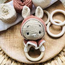 Peaches, Häkelset Peaches, Knitting Kit, Lululovesthemoon