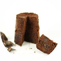 Schokoladen-Kuchen im Glas