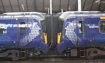 British-Rail-Klasse 835 gekuppelt als ScotRail Express
