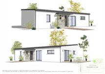 Eda, une maison familiale de 4 chambres par le constructeur de votre maison MAISONS KERNEST