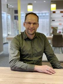 Maik Plagemann, Mitarbeiter beim GlasHaus - dem optiker