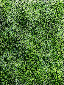 17.9.40 2017, Pigment, Acryl, Nessel, Hartfaser, 40 x 30 cm
