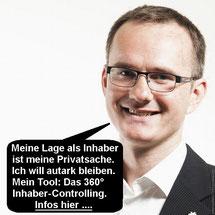 TÜV-Plakette für KMU-Unternehmer.