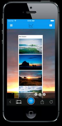 Jimdo-App загрузка изображений