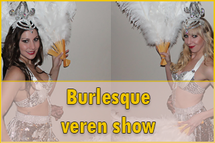 Burleske dansshow, burlesque dansshow, burlesque danseres