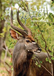 Jagdzeit International 28, Cover Nyala, Fotografiert von Marco Ritter