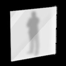 Sicherheitsglas Milchglas