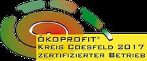 Ökoprofit Zertifikat Coesfeld